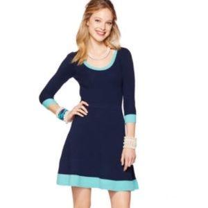 Lilly Pulitzer Gabriella wool  sweater dress sz M